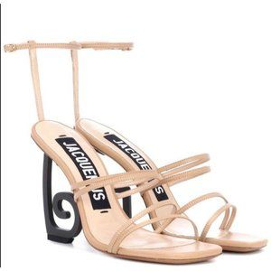 Jacquemus heels sandals in nude size38